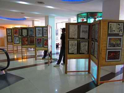 Komiks Festival Exhibit