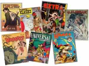 Komiks of yesteryears