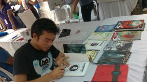 Manix Abrera signing