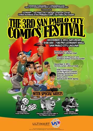The 3rd SPC Comics Festival