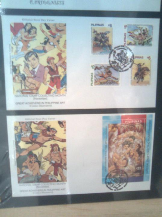 stamps and postcard collections 2