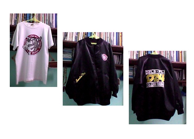 DZLB FM shirt and jacket