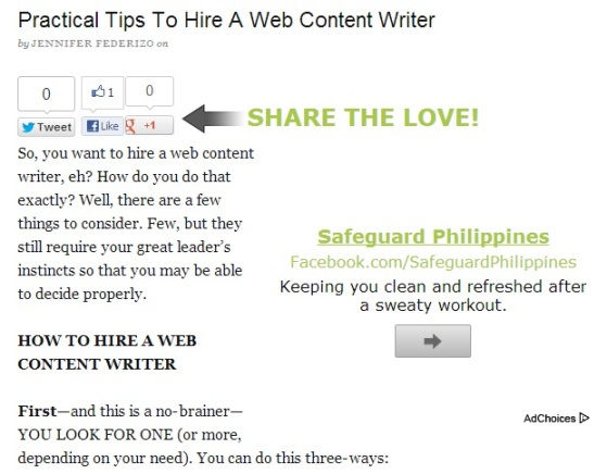 how to become a web content writer
