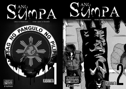 ANG SUMPA Is A Detective Mystery Comicbook That Dares To Be Different Story And Art By Andoyman Edited SuperGi Copyright C Komikero