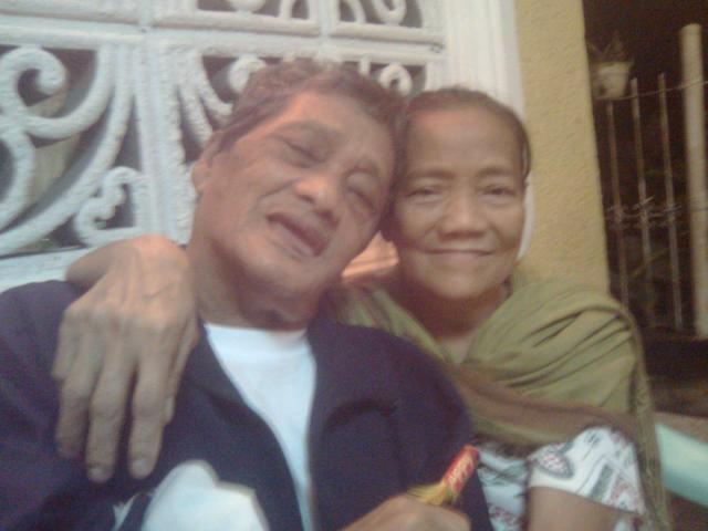 My parents on New Year's Eve 2011